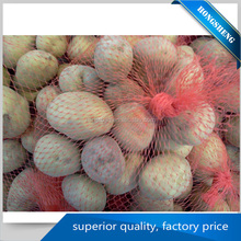 plastic mesh recycle pe net bag mesh netting fruit and vegetable bag