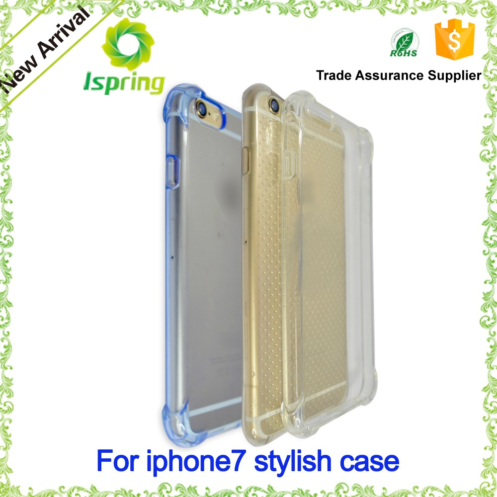 NEW Product For iPhone 6s 7 Shock Proof Clear TPU Luxury Case