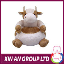 EN71/ASTM New design plush cow chair