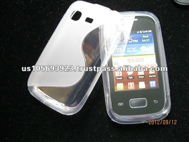 S line TPU case for Samsung galaxy pocket s5300