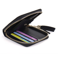 Coin Bag Card Holder Genuine Leather