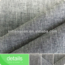 hemp cotton yarn dyed chambray fabric