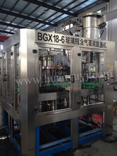 Glass Bottle Sparkling Wine Making Machine With Metal Cap