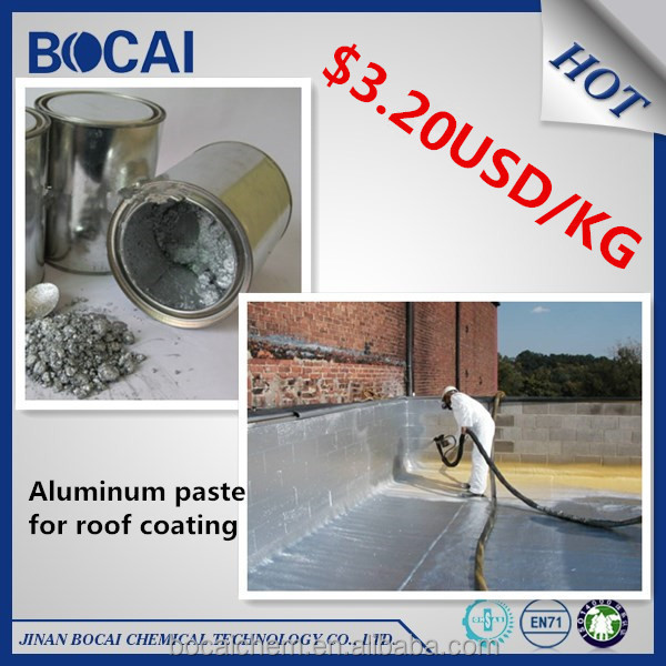 leafing aluminum silver pigment for protective industrial coating