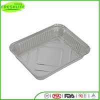 New style aluminum foil container hot sell burger aluminum foil container
