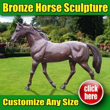New design Horse Statue both legs up with great price