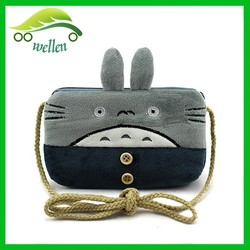 Cute cartoon series of sweet coin purse mobile wallet chinchilla purse children wallet