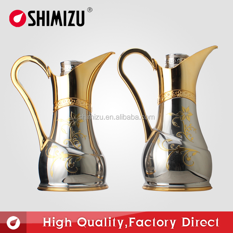 Coffee pot thermos vacuum flask Arabic style