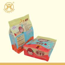 Plastic laminated box bottom pouch with ziplock for dates/dried fruits