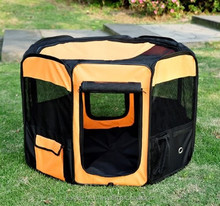 foldable pop up pet play pen