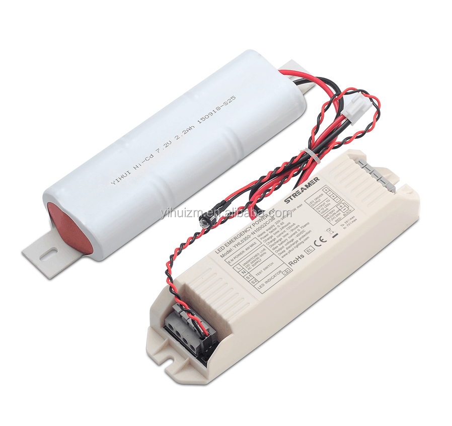 TUV CE certificate STREAMER YHL0350-N100S2C/2B Emergency Module Rechargeable Battery Pack