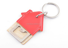 Zinc Alloy Keychain in House Shape