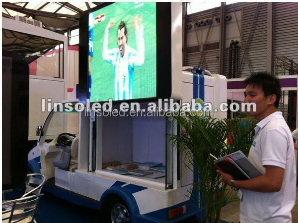 Shanghai Yeeso led billboard digital mini led display truck for roadshow and outdoor advertising
