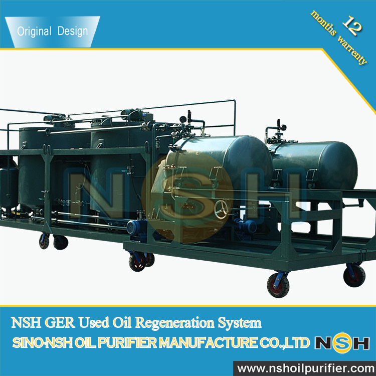 Nsh Used Motor Oil Recycling Plant Waste Oil Recycling