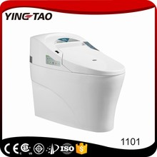 Hottest-selling product intelligent toiletceramic siphonic recliner toilet