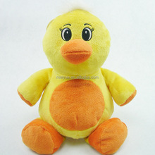 Wholesale Lovely Plush Toys Baby Yellow Duck Soft Toy
