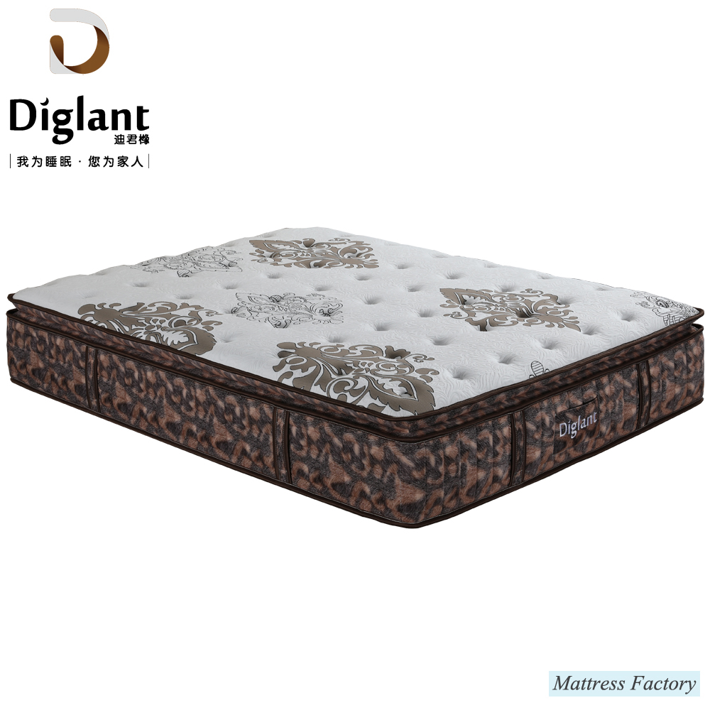 Comfortable Best Quality Queen Size Spring Foam Hybrid Night Sleep Mattress - Jozy Mattress | Jozy.net