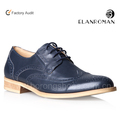 BORONG Italian handmade Oxfords Genuine Leather Men Dress shoes in Good Price