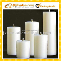 paraffin wax price no drip pillar candles