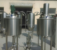 100L Mini brewery plant/small beer manufacturing machines