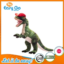 High Quality Dinosaur Stuffed Plush Toys With Red Hat