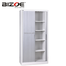 Modern office file cabinet/industrial metal storage cabinet/roller shutter door cabinet