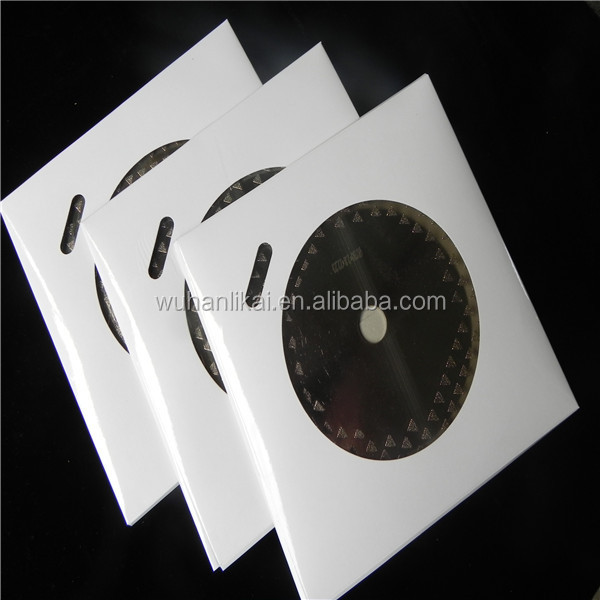 350 diamond Laser blade cutting concrete and marble