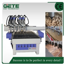Gete China techno 6 spindles cncrouter for sale Carving