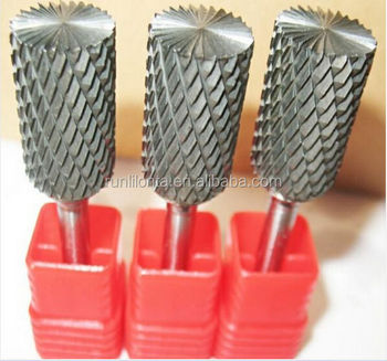 Multi flute spiral carbide rotary burrs/ rotary files 3mm-16mm dia