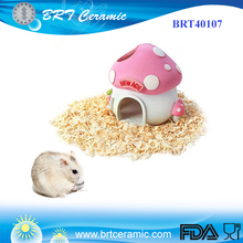 Custom Resin Mushroom House Small Pet Mouse Hamster Cage