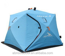 Ice cube Fishing Shelter Tent Winter Fishing Tent for 4 People