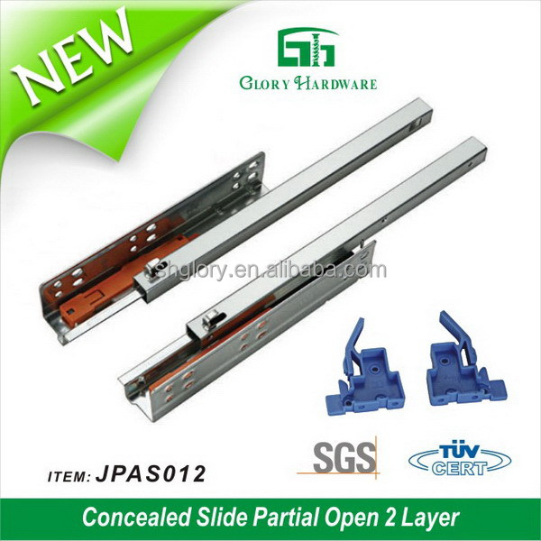 Top quality most popular telescopic sliding drawer channel