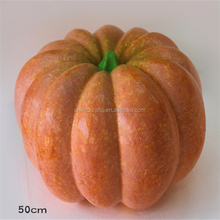 wholesale decorative custom artificial large styrofoam pumpkins for festival