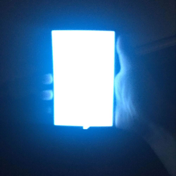 Large size custom el backlight/electroluminescent paper/el panel