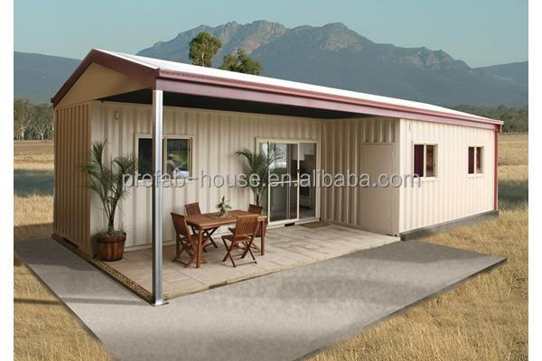 fireproof sound insulation eco-friendly low cost small prefab house prefab homes