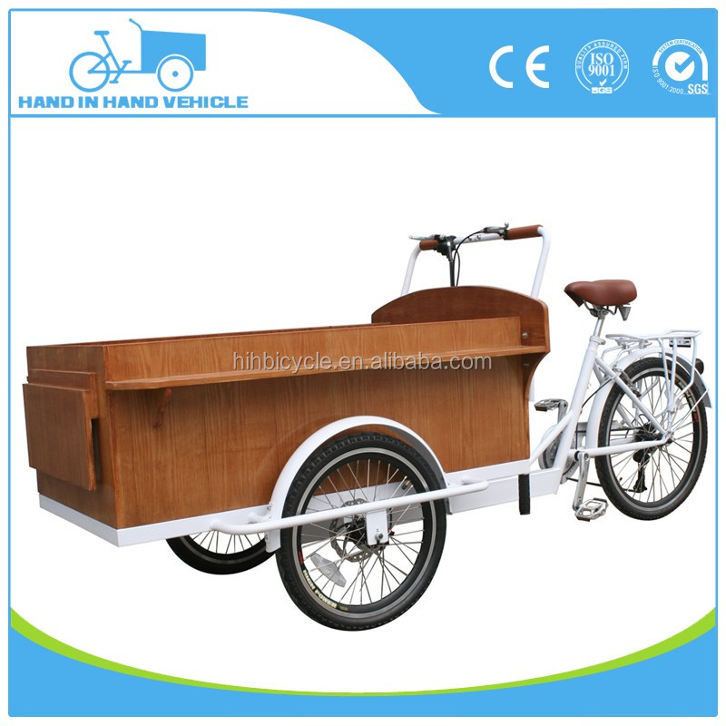 two front wheel bike for cargo for factory direct sale