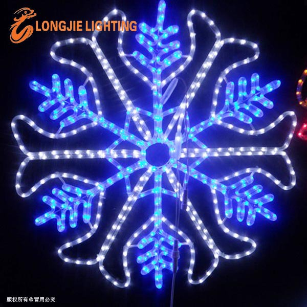 90cm led flashing snowflake Christmas decorations light