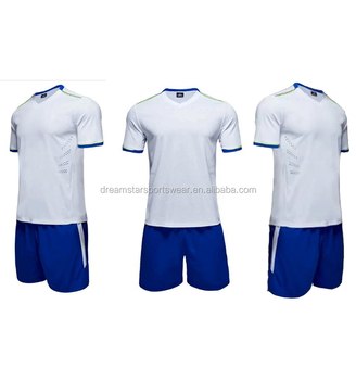 Blank And Custom Training Jersey White Color