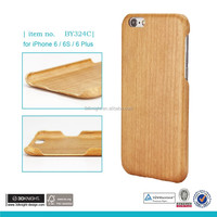 Full bamboo wood luxury high quality phone case ,100% Kevlar for iphone 6 case ,for iphone 6 carbonized bamboo case