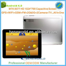 mid 9 7 inch tablet pc 3g phone call dual camera+1024*768p+TV+FM+GPS+bluetooth