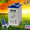 Grade A Sealed Lead Acid battery 2V 400ah Solar battery Gel Battery