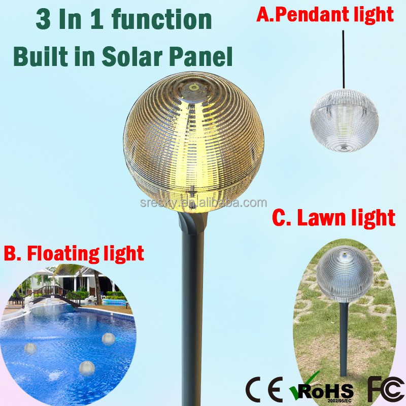 Novelty Led Solar Lights Fixture With Mosquito Repellent Garden