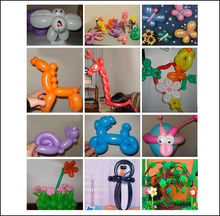 Various kinds of diy balloon of decoration