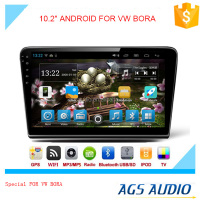 New 10.2 inch Android 2015 Latest Android car GPS navigation manufacturer for VW BORA