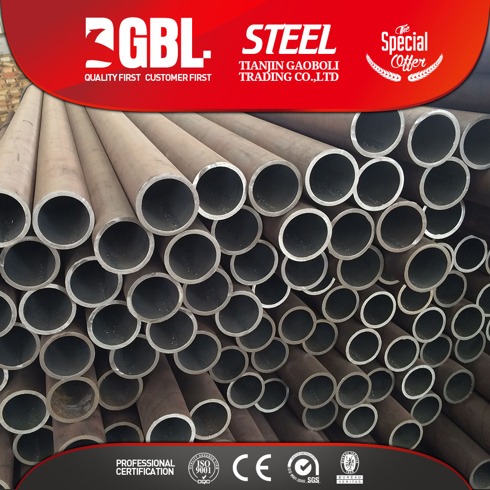 building materials hollow section seamless carbon steel pipe mill test certificate