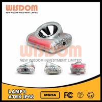 Brightest among the industry lamp 3 miner helmet light brands