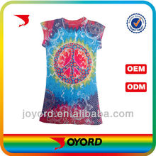 Costom made new pattern t-shirts sublimation printing all over the shirt