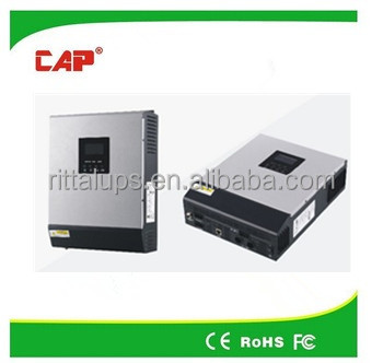 4KVA solar inverter pure sine wave off grid system high frequency inverter IN MPPT 60A controller