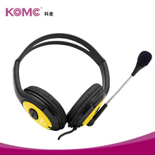 custom designed headphone manufacturers, oem wiredheadphone with finger touch panel, over ear headphone