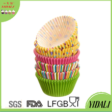 New Design Greaseproof Paper Baking Cups Cakes Cupcakes